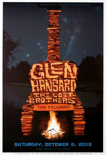 Glen Hansard - The Fillmore - October 6, 2012 (Poster)