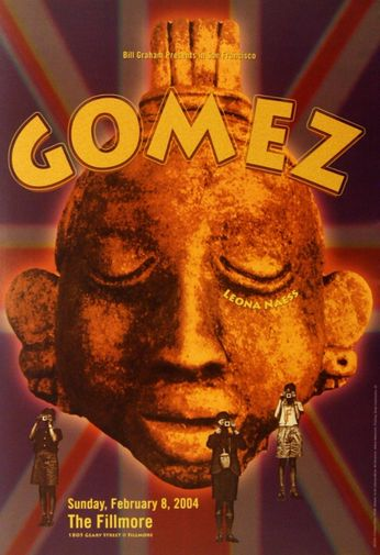 Gomez - The Fillmore - February 8, 2004 (Poster)