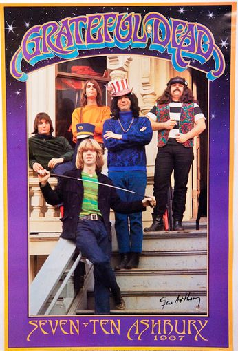 Grateful Dead - Seven Ten Ashbury (Poster)