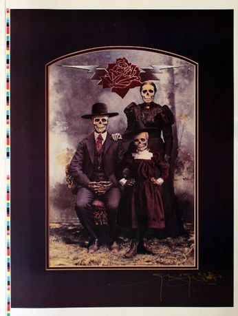 Grateful Dead - Dead Family Album (Poster)