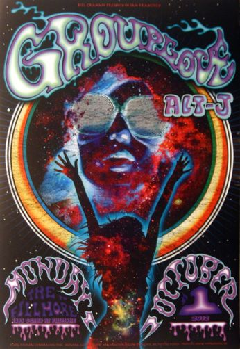 Grouplove - The Fillmore - October 1, 2012 (Poster)