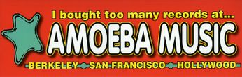 I Bought Too Many Records at Amoeba Music (Bumper Sticker)