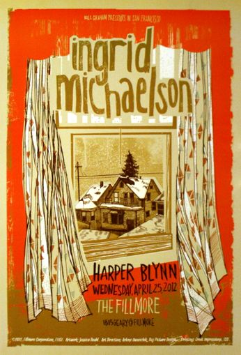 Ingrid Michaelson - The Fillmore - April 25, 2012 (Poster)