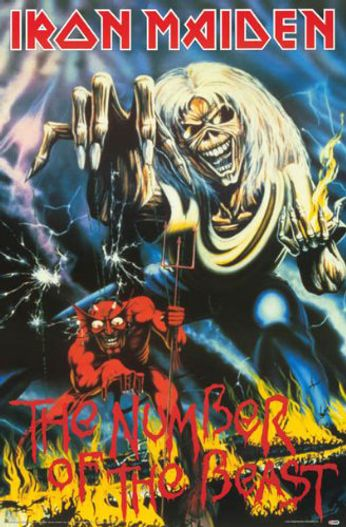 Iron Maiden - The Number Of The Beast (Poster)