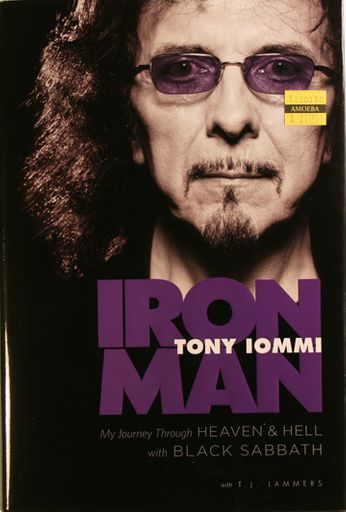 Tony Iommi / Black Sabbath - Iron Man (Book)