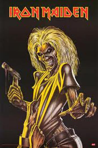 Iron Maiden - Killer (Poster)