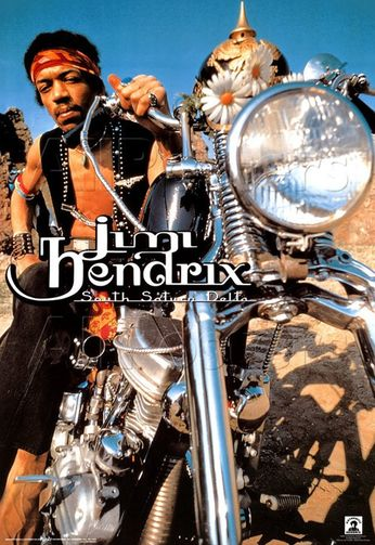 Jimi Hendrix - South Saturn Delta (Poster)