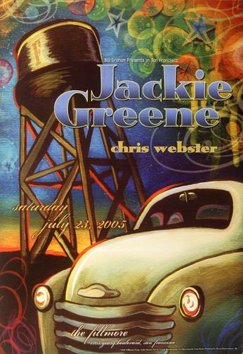 Jackie Greene - The Fillmore - July 23, 2005 (Poster)