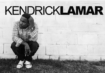 Kendrick Lamar - Plaid Shirt (black & white Poster)