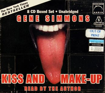 Gene Simmons / Kiss - Kiss And Make-Up [Audiobook] (Book)