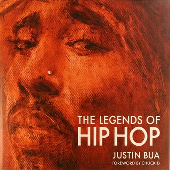 Justin Bua - The Legends Of Hip Hop [Signed] (Book)