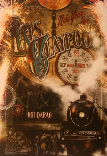 Les Claypool - The Fillmore - December 31, 2009 (Poster)