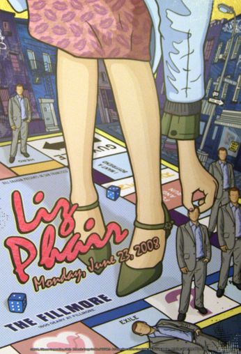Liz Phair - The Fillmore - June 23, 2008 (Poster)