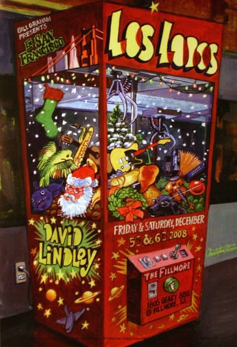 Los Lobos - The Fillmore - December 5-6, 2008 (Poster)