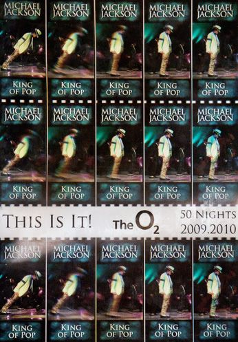 Michael Jackson - O2 Arena - This Is It Tour 2009/10 [Green] (Poster)