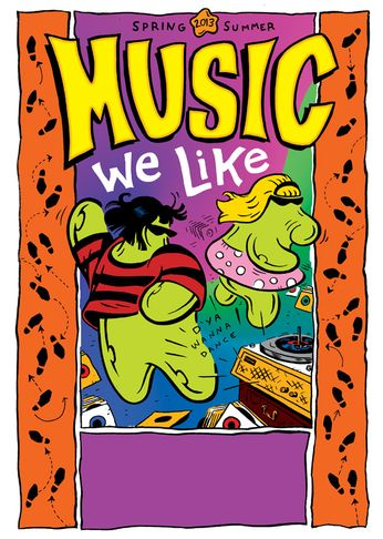 Music We Like Book (Spring 2013)