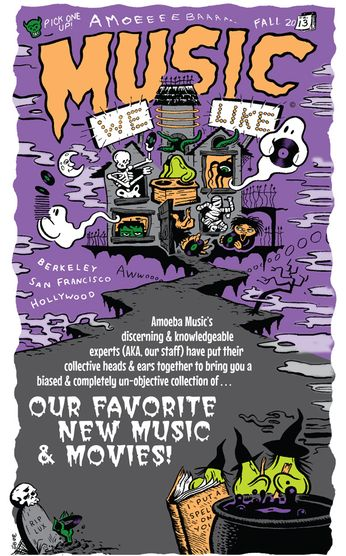 Music We Like Book (Fall 2013)