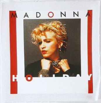 Madonna - Holiday Cover (Patch)