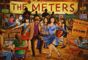 The Meters - The Fillmore - November 17-18, 2006 (Poster)