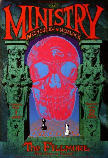 Ministry - The Fillmore - April 1-2, 2008 (Poster)