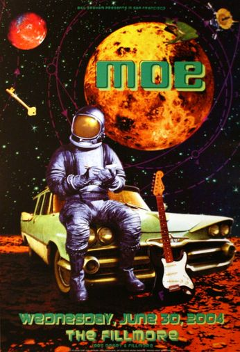 Moe - The Fillmore - June 30, 2004 (Poster)