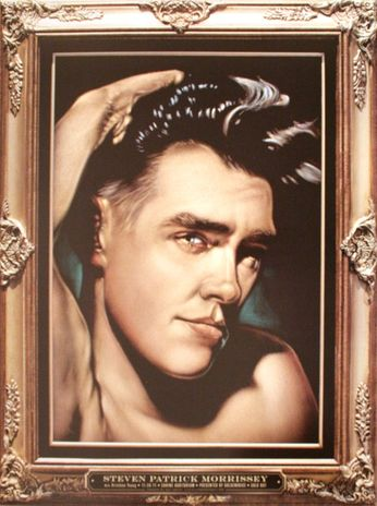 Morrissey - Shrine Auditorium - November 26, 2011 (Poster)