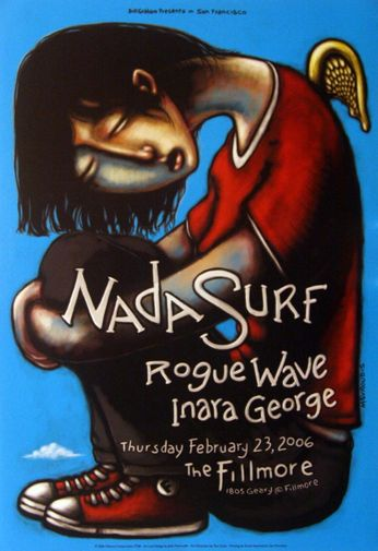 Nada Surf - The Fillmore - February 23, 2006 (Poster)