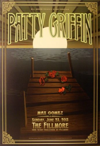 Patty Griffin - The Fillmore - June 23, 2013 (Poster)