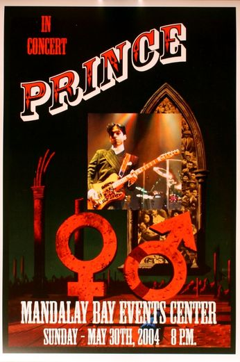 Prince - Mandalay Bay Events Center - May 30, 2004 (Poster)
