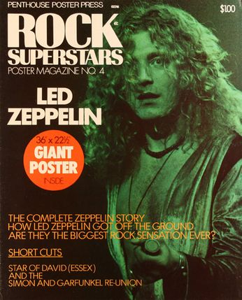 Rock Superstars Poster Magazine - Issue No. 4 - Led Zeppelin (Magazine)