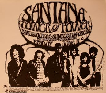 Santana - Kentucky Fair & Exposition Center - June 10, 1971 (Poster)