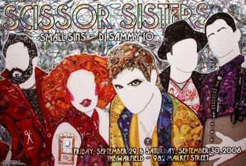 Scissor Sisters - The Warfield - September 29-30, 2006 (Poster)