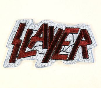 Slayer - Maroon Logo Dye Cut (Patch)
