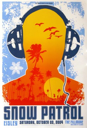 Snow Patrol - The Fillmore - October 2, 2004 (Poster)