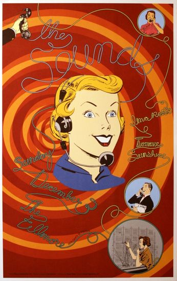 The Sounds - The Fillmore - December 3, 2006 (Poster)