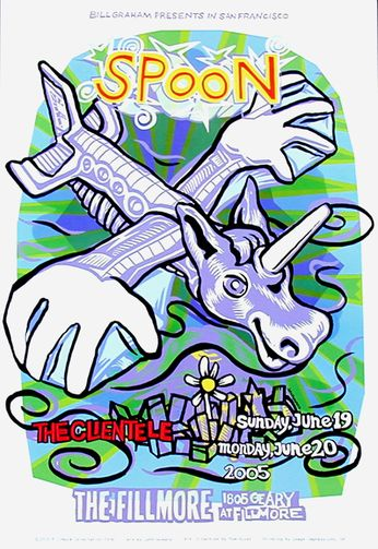 Spoon - The Fillmore - June 19-20, 2005 (Poster)