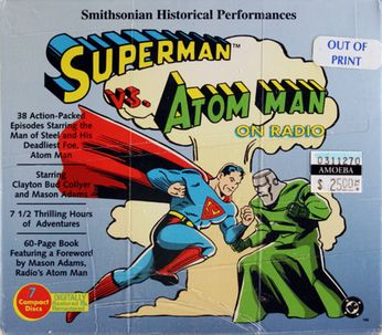 Superman Vs. Atom Man - On Radio  - Soundtrack (Audio Book)