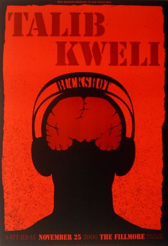 Talib Kweli - The Fillmore - November 25, 2006 (Poster)