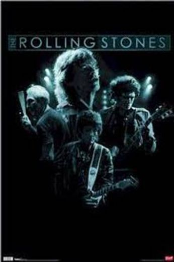 The Rolling Stones - Blue Light (Poster)