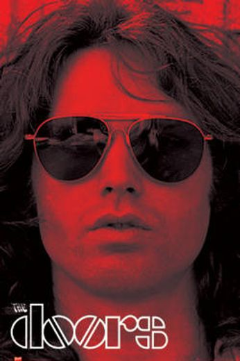 The Doors - Jim Morrison Red (Poster)