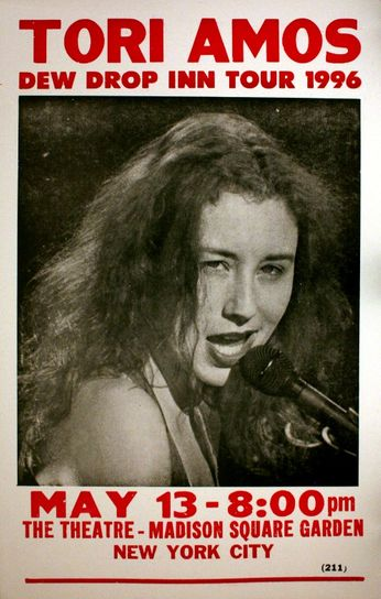 Tori Amos - Madison Square Garden - May 13, 1996 (Poster)