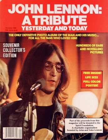 John Lennon - John Lennon: A Tribute - Yesterday And Today (Magazine)