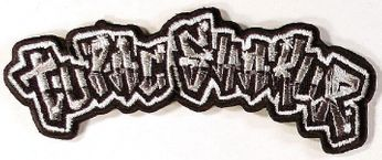 Tupac Shakur - Black & Silver Dye Cut Logo (Patch)