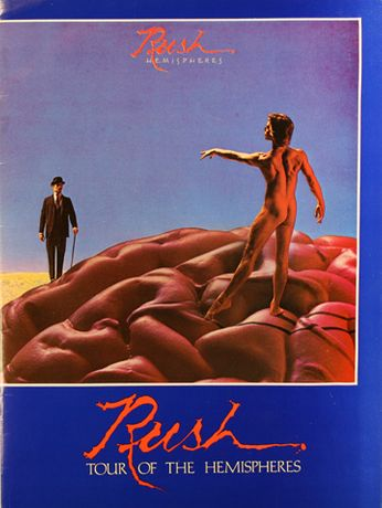 Rush - Tour Of The Hemispheres (Concert Program)