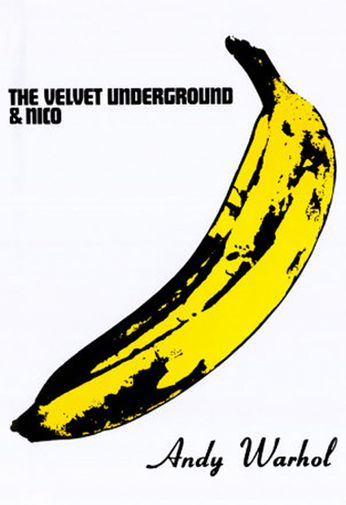 The Velevt Underground - Andy Warhol Banana (poster)