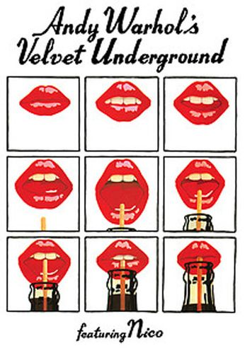 Andy Warhol's Velvet Underground Featuring Nico (Poster)