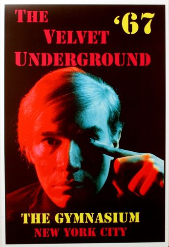 Velvet Underground The Gymnasium 1967 Poster
