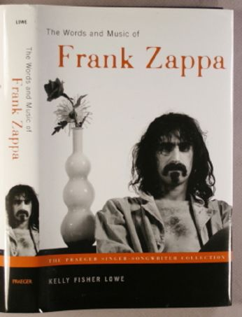 The Words & Music Of Frank Zappa (Book)