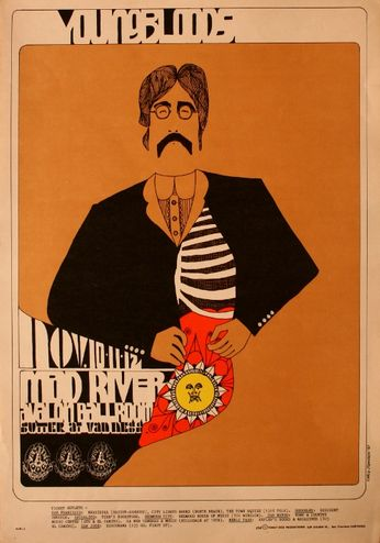 The Youngbloods - The Avalon Ballroom - November 10-12, 1967 (Poster)