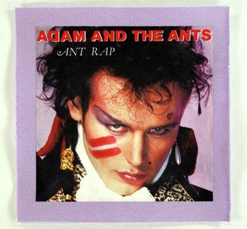 Adam & The Ants - Ant Rap Cover Patch